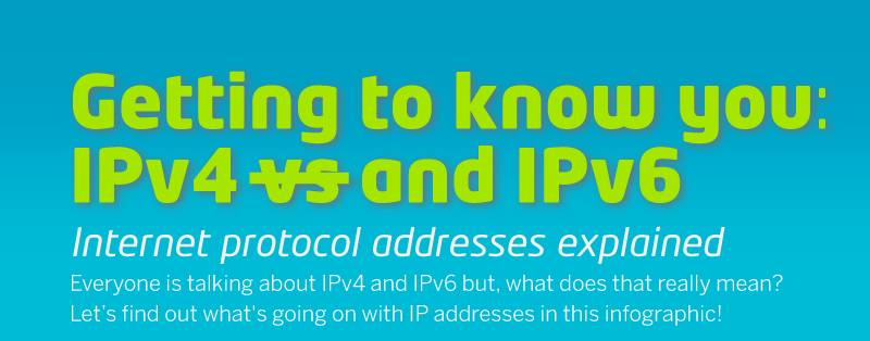 getting to know ipv4 and ipv6 address